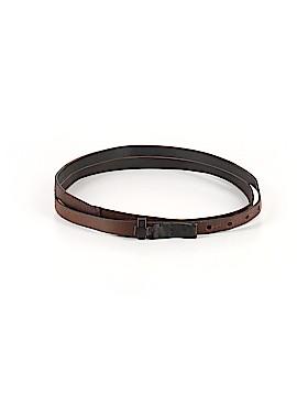 Club Monaco Leather Belt Size Sm - Med