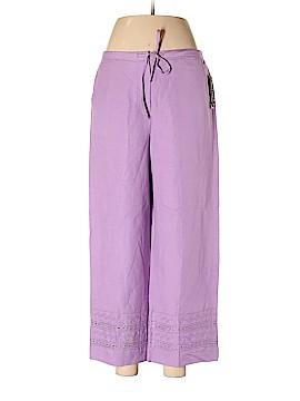Larry Levine Linen Pants Size 8