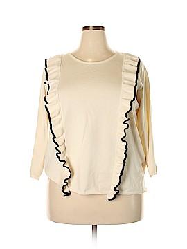 Carmen Carmen Marc Valvo Pullover Sweater Size 3X (Plus)