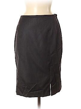 Armani Collezioni Wool Skirt Size 8