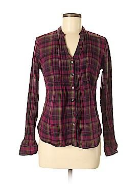 Converse Long Sleeve Button-Down Shirt Size S