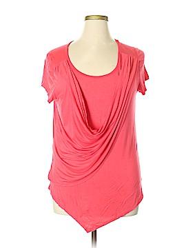 Libian Short Sleeve Top Size 3X (Plus)