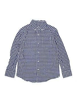 Crewcuts Long Sleeve Button-Down Shirt Size 8