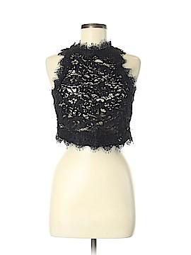 Trafaluc by Zara Sleeveless Button-Down Shirt Size M