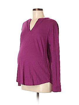 Ann Taylor LOFT 3/4 Sleeve Top Size M (Maternity)