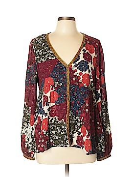 Zara TRF Long Sleeve Blouse Size XL