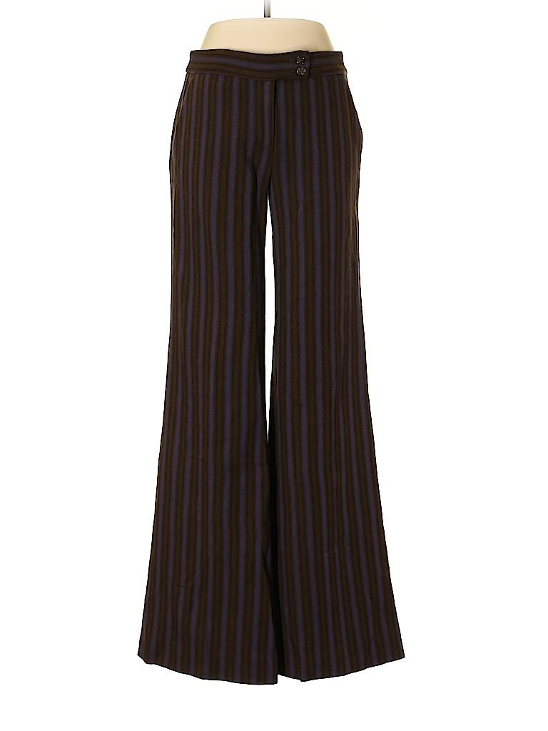 ETRO Women Wool Pants Size 42 (IT)