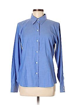 Eddie Bauer Long Sleeve Button-Down Shirt Size M