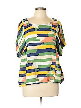 Maeve Short Sleeve Blouse Size L