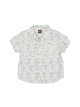 Tea Short Sleeve Button-Down Shirt Size 2T