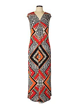 Roaman's Casual Dress Size L