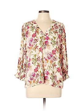 Cynthia Rowley TJX 3/4 Sleeve Blouse Size XL