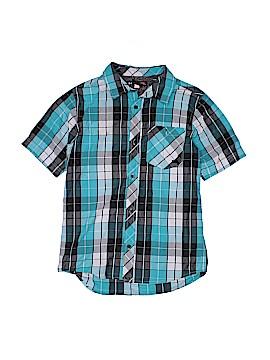 Hawk Short Sleeve Button-Down Shirt Size 14 - 15