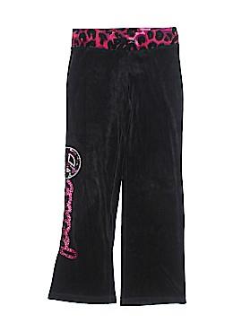 Justice Velour Pants Size 8