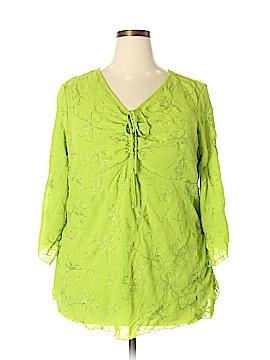 Studio 1940 3/4 Sleeve Blouse Size 22 (Plus)