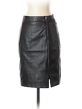 Banana Republic Leather Skirt Size 2P