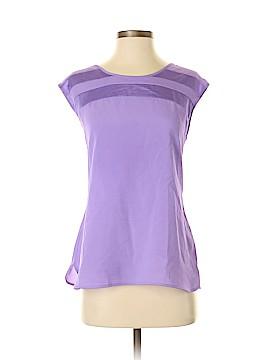 New York & Company Short Sleeve Blouse Size M