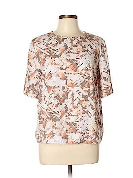 14th & Union Short Sleeve Blouse Size L