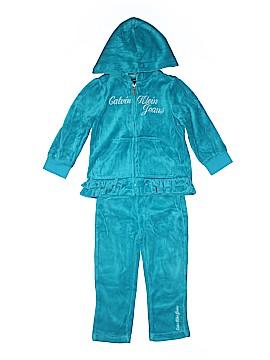 Calvin Klein Zip Up Hoodie Size 24 mo