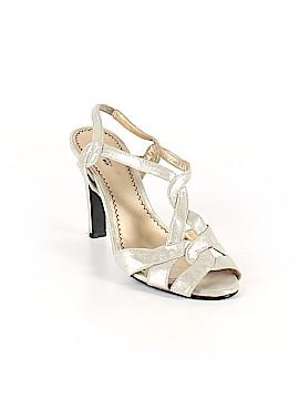 Platinum Heels Size 9 1/2