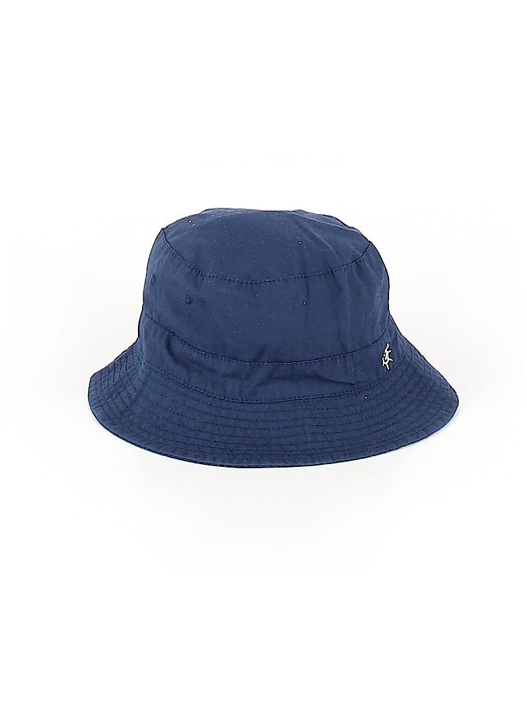 99b715474c2 H M 100% Cotton Solid Dark Blue Bucket Hat Size 12-18 mo - 50% off ...