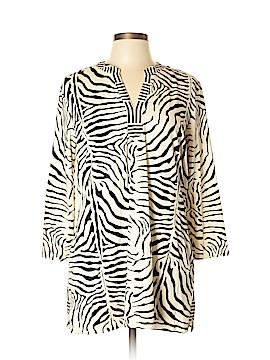 J. McLaughlin 3/4 Sleeve Blouse Size XL