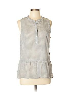 LC Lauren Conrad Sleeveless Button-Down Shirt Size L