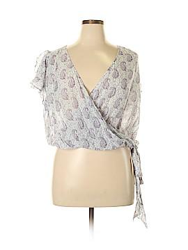 Moulinette Soeurs Short Sleeve Blouse Size 14