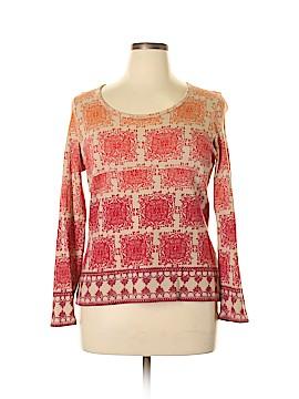 Liz & Co Long Sleeve T-Shirt Size XL (Petite)