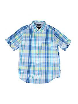 Nautica Short Sleeve Button-Down Shirt Size 10 - 12