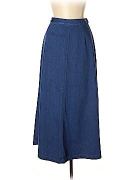 Talbots Denim Skirt Size 10