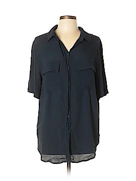 Porridge Short Sleeve Button-Down Shirt Size XL