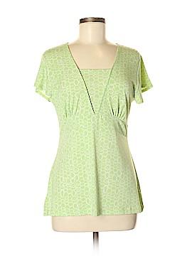 Nine & Co. Short Sleeve Blouse Size M
