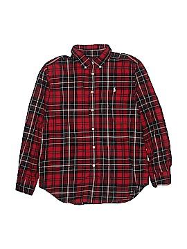 Ralph Lauren Long Sleeve Button-Down Shirt Size 14