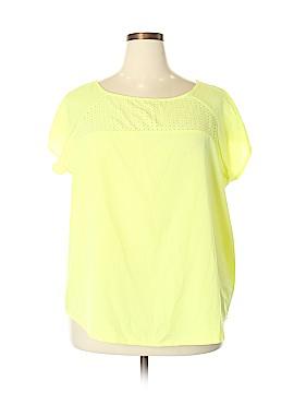 Ava & Viv Short Sleeve Blouse Size 2X (Plus)