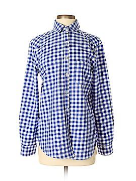 Amaryllis Long Sleeve Button-Down Shirt Size S