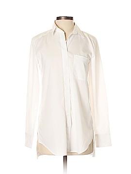 Ann Taylor Long Sleeve Button-Down Shirt Size XXS