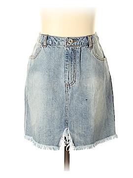 Miss Guided Denim Skirt Size 4