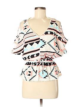 Miss Chievous Short Sleeve Blouse Size M