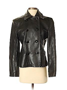 Anne Klein Leather Jacket Size 6