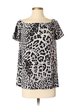 Norma Kamali Short Sleeve Blouse Size S