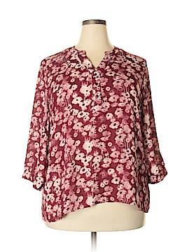 De Collection Long Sleeve Blouse Size 2X (Plus)