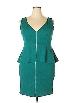 FASHION TO FIGURE Cocktail Dress Size 2X (Plus)