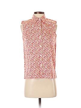 Josephine Chaus Sleeveless Button-Down Shirt Size P