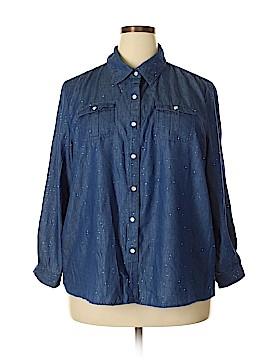 C.D. Daniels Long Sleeve Button-Down Shirt Size 2X (Plus)