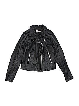 H&M Faux Leather Jacket Size 10 - 11