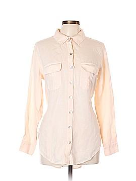 Soft Surroundings Long Sleeve Button-Down Shirt Size L