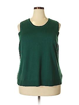 Charter Club Sweater Vest Size 3X (Plus)