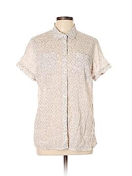Eddie Bauer Short Sleeve Blouse Size XL