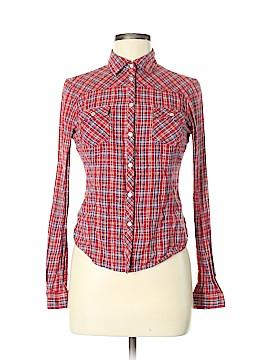 Kimchi Blue Long Sleeve Button-Down Shirt Size M